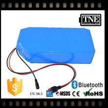 TNE lifepo4 20v 10ah lithium ion electric bike 48v 50ah battery pack