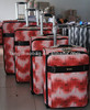 2013 colored case carry on luggage trolley bag travel luggage