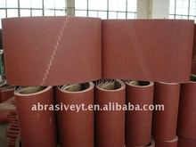 cloth backing endless overlap joint abrasive belt