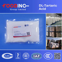 China buy low price acidulants dl tartaric acid l e334 Wholesaler