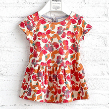 2017 baby party dress children designs frocks for 3 years old girl