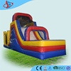 GMIF cheap inflatable jumping house with slip slide for small business