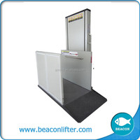 good quality platform lift hospital wheelchair lift