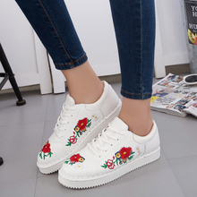 DL20032B 2017 shoes 2017 arrivals women lady fashion casual shoes in china with flowers