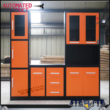 Home Storage Kitchen Room Steel Furniture Design/Home Kitchen Cabinet Sets/Home Kitchen Metal Kitchen Cabinets sale