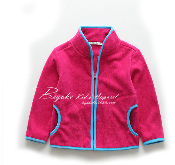 Children polar fleece jacket kids cheap sport jacket from Anhui garment factory