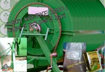 Electric Rotary RKE-2000L Composter
