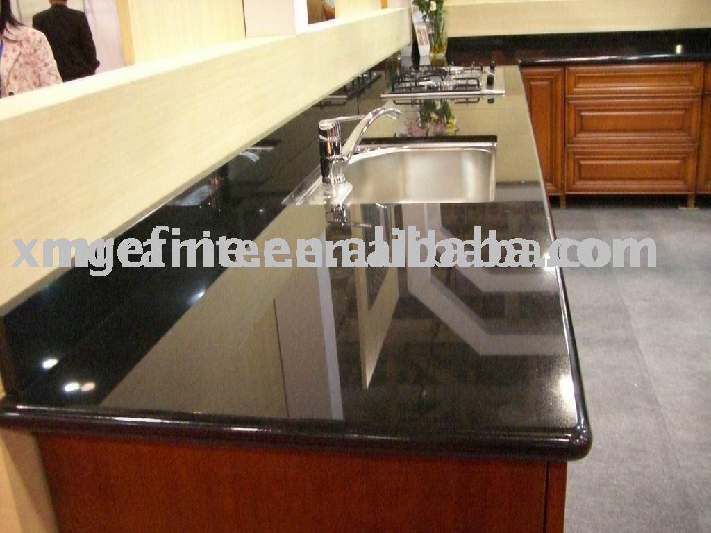 Black Marble Countertop - Buy Marble Countertop,Kitchen Countertop ...