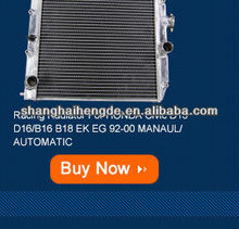 Aluminum auto radiators For TOYOTA HILUX SURF 2.8 DIESEL LN106