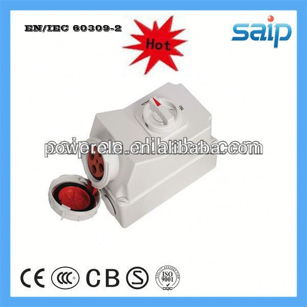 2013 New Mechanical ftth fiber wall outlet