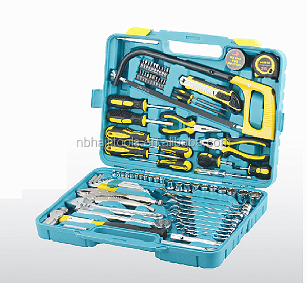 85pcs home owner's tool set /machenical repairing tools set 85pcs
