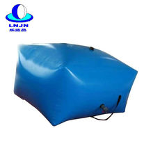 Portable reusable pillow shape PVC flexible water Storage tank for agriculture