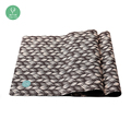 wholesale Natural Tree Rubber Private Label Microfiber Yoga Mat