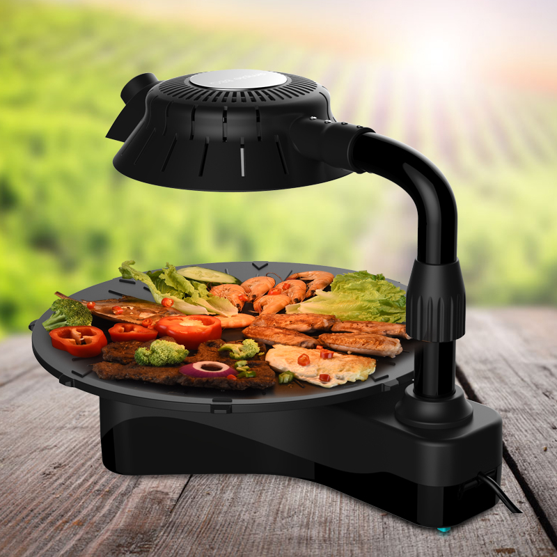2015 new items infrared electric bbq infrared gas burner