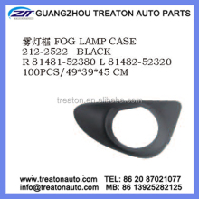 FOG LAMP CASE 81481-52380 81482-52320 FOR TOYOTA YARIS VITZ 14 2D
