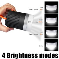 Ultra Bright Portable LED Rechargeable Camping Lantern &10400mAh USB External Battery Charger Power Bank