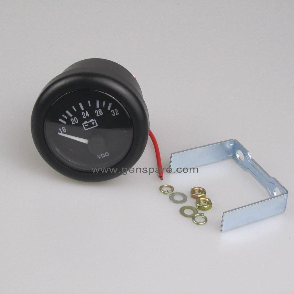 Vdo Volt Gauge Wiring Generator Buy Voltage Product
