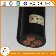 Cheaper price 0.6/1KV 4 core 4mm xlpe insulated pvc sheathed power cable
