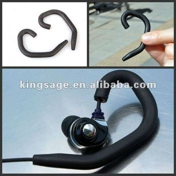 Eco-friendly convenient and nice silicone earphone earhook headphone ear hook