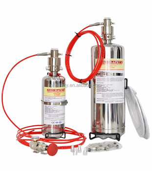 High Performance FM200 Automatic Fire Suppression Systems
