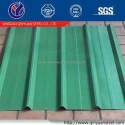 hot sales colored metal roof tile, galvalume color coated roofing sheet