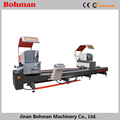 High accurate double head aluminium profile saw
