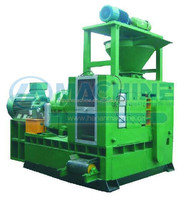 barbecue charcoal production line/used charcoal making machine/charcoal powder briquette ball press machine