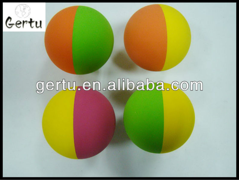 hollow plastic bouncing balls