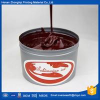 Sublimation processing dye textile offset ink