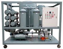 waste Turbine oil filtration/ lube turbine oil demulsifier