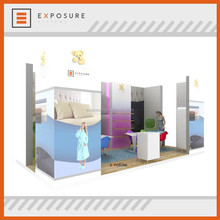 Advertising Booth Stand Exhibition Modular Trade Show Circular Display