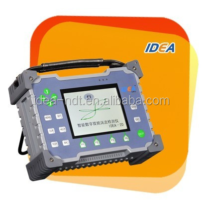 Dual frequency eddy current detector/Portable metal testing equipment