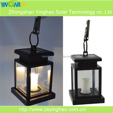 Energy Saving Outdoor Solar LED Candle Light For Beach Umbrella