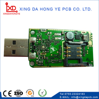 solar light circuit board clock pcb board assembly