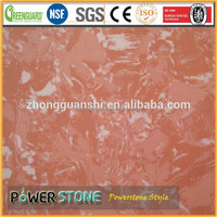 Pink Roses Cheap Marble Tile