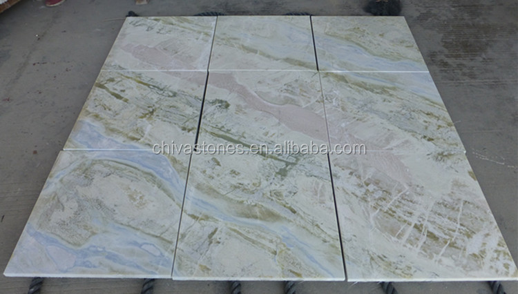 blue onyx jade marble floor tile low price marble tile