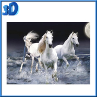 Customize Deep 3D Lenticular Printing Picture of Horse