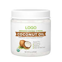 Wholesale Private Label Organic Extra Virgin Coconut Oil