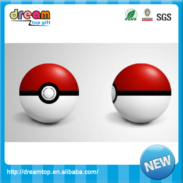 Wholesale cheap pu pokeball stress ball funny stress relief toy