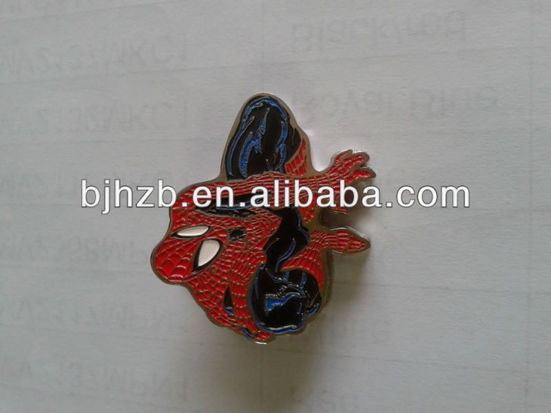 customized metal badge