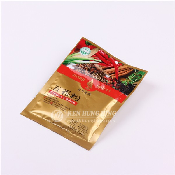 High Quality Aluminum foil chilli powder foil packaging bag
