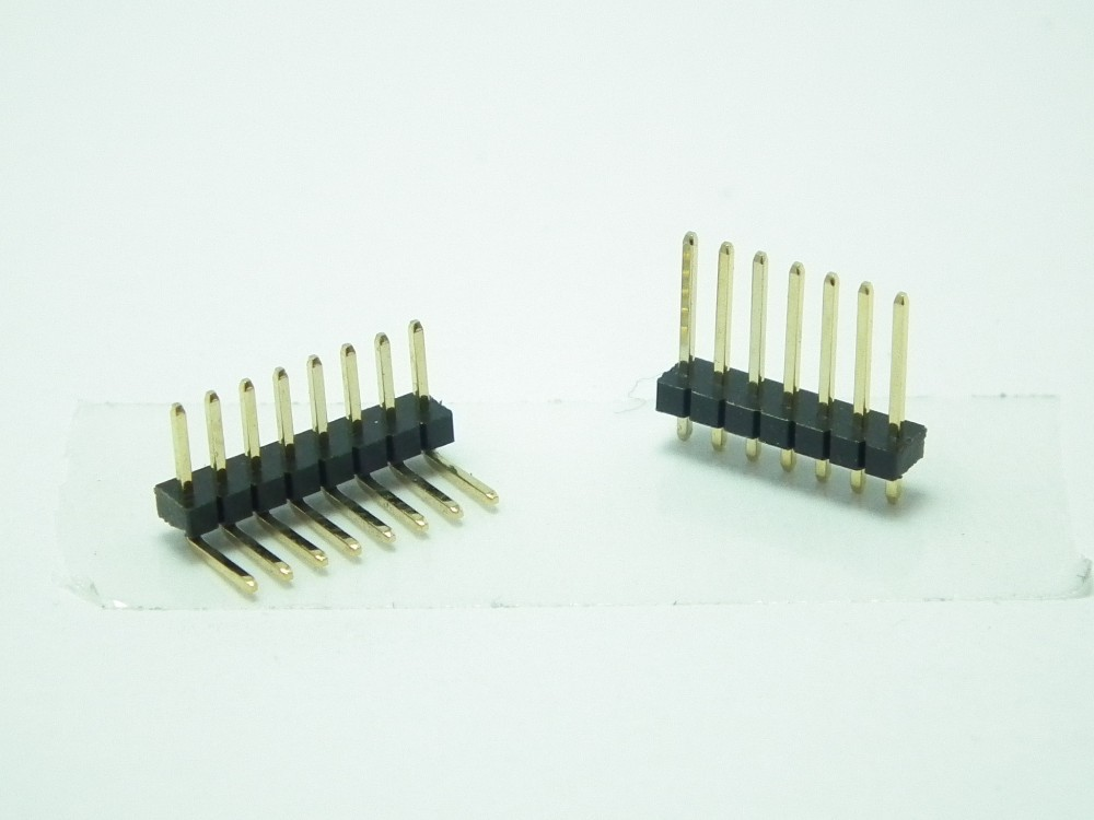 pitch 1.0mm Dip / SMT Type Single /Double Row male Pin Header