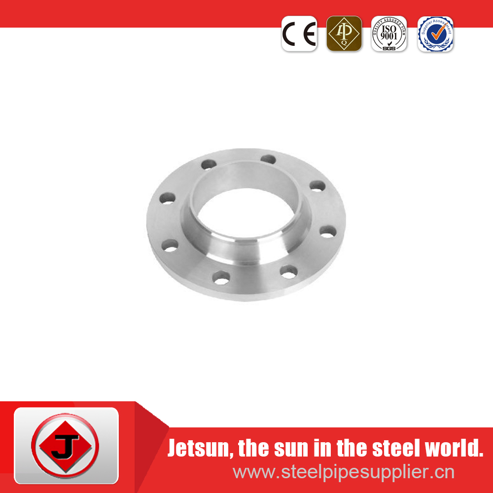 carbon steel standard ansi b16.5 class 150 weld neck flange high quality