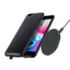 Hot Sale QI Fast Wireless Charger Genuine Leather Receiver Case Mobile Phone Accessory For iPhone 6s / 7 / 7 Plus