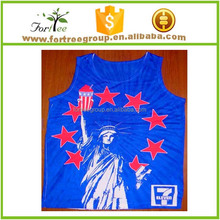 designed with custom sizes casual men'S inner vests
