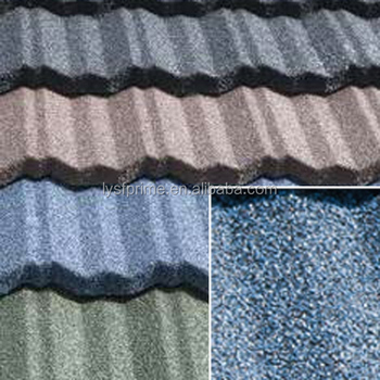stone tile / colorful stone coated metal roofing Mordern Classical Tile