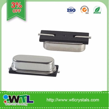 WTL WX7 Series 49SMD Quartz Crystal