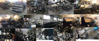 Chongqing Cargo Tricycle Spare Parts,Rear Axle,Rear bridge,180,220 Rear Axle For Sale