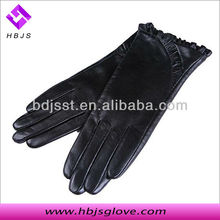 Sex ladies short leather gloves