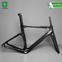 2016 latest NK1K carbon road bike frame, Same weight as NK1000 BB68/BB30 aero road racing bicycle frame